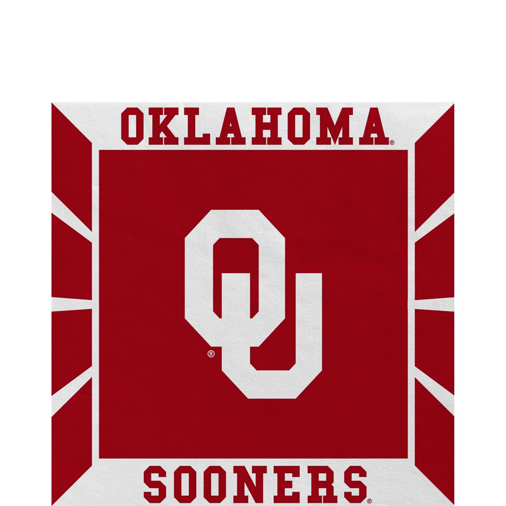 Nav Item for Oklahoma Sooners Party Kit for 40 Guests Image #5