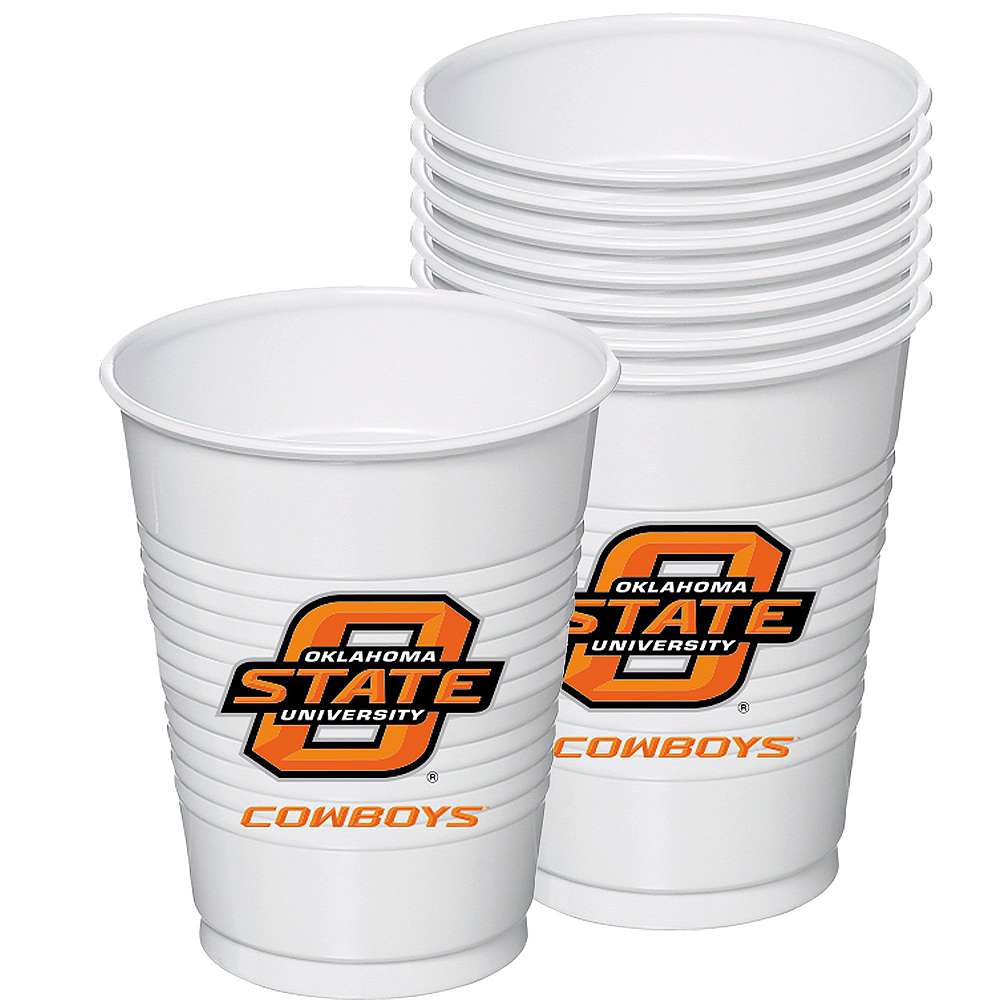 Oklahoma State Cowboys Party Kit for 40 Guests Image #6