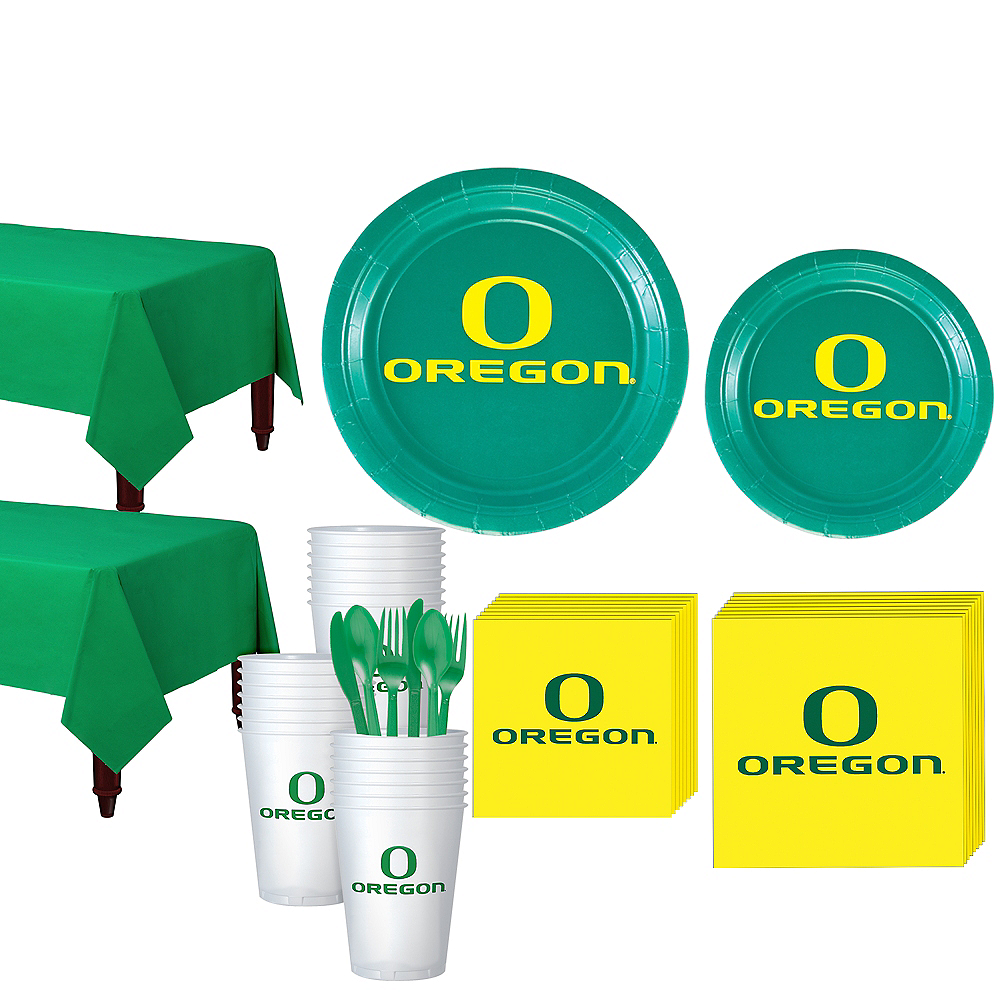 Oregon Ducks Party Kit for 40 Guests Image #1