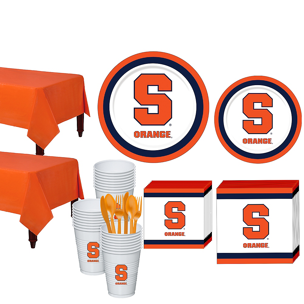 Nav Item for Syracuse Orange Party Kit for 40 Guests Image #1