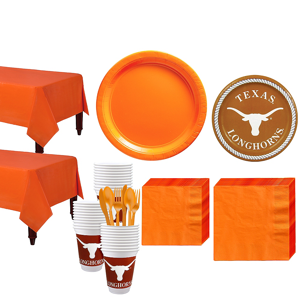 Texas Longhorns Party Kit for 40 Guests Image #1