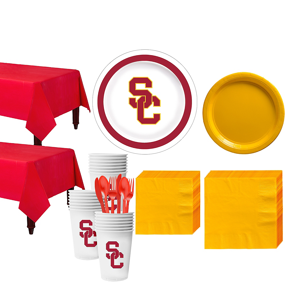 USC Trojans Party Kit for 40 Guests Image #1