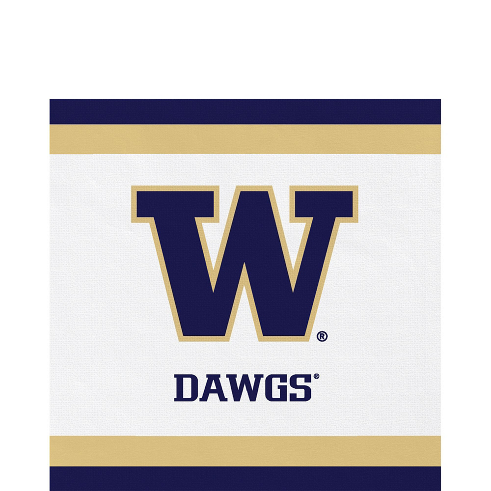 Washington Huskies Party Kit for 40 Guests Image #5