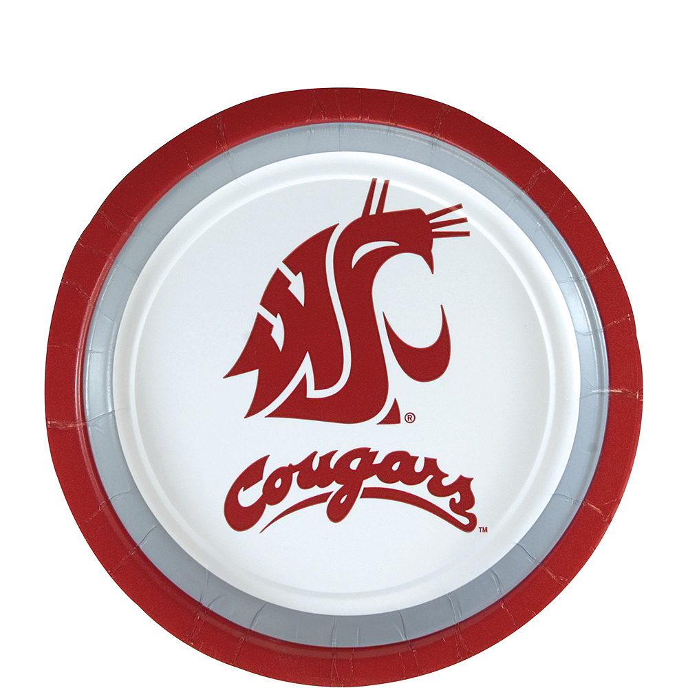 Washington State Cougars Party Kit for 40 Guests Image #2