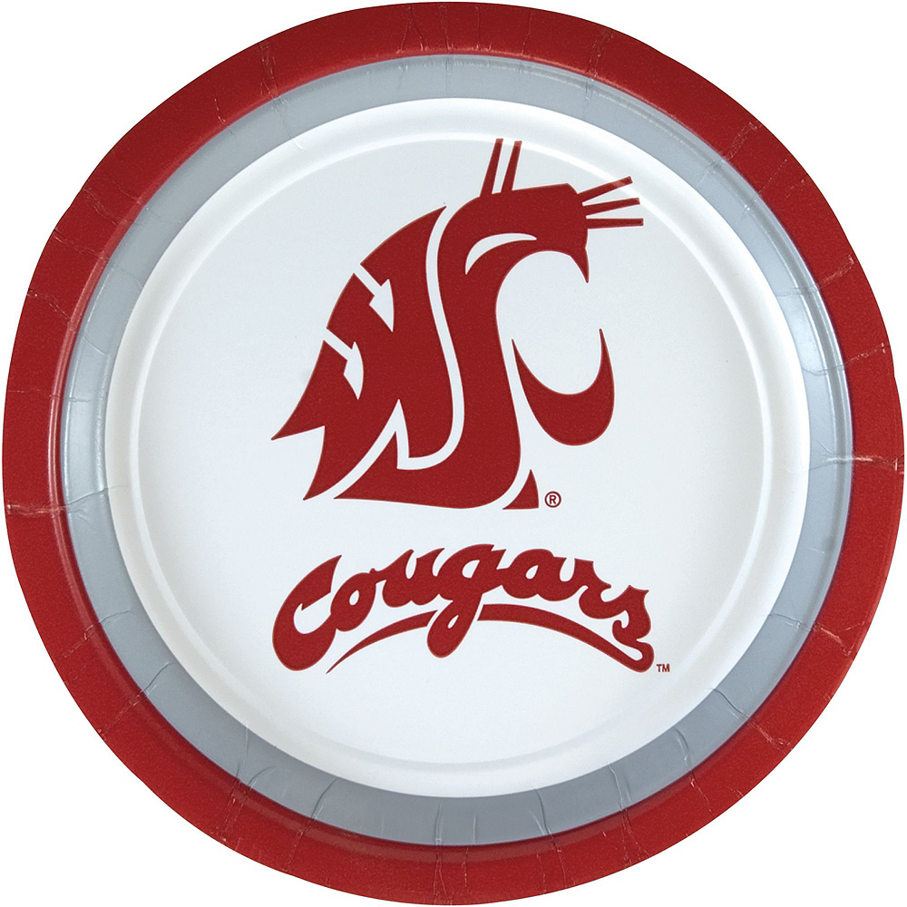 Washington State Cougars Party Kit for 40 Guests Image #3