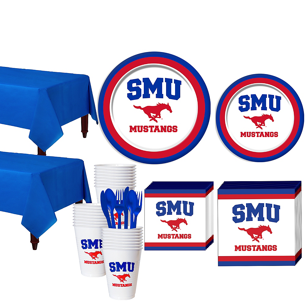 SMU Mustangs Party Kit for 40 Guests Image #1