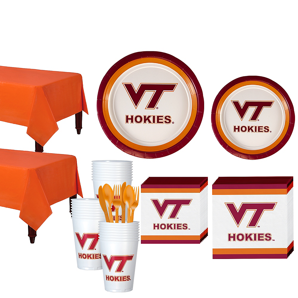 Virginia Tech Hokies Party Kit for 40 Guests Image #1