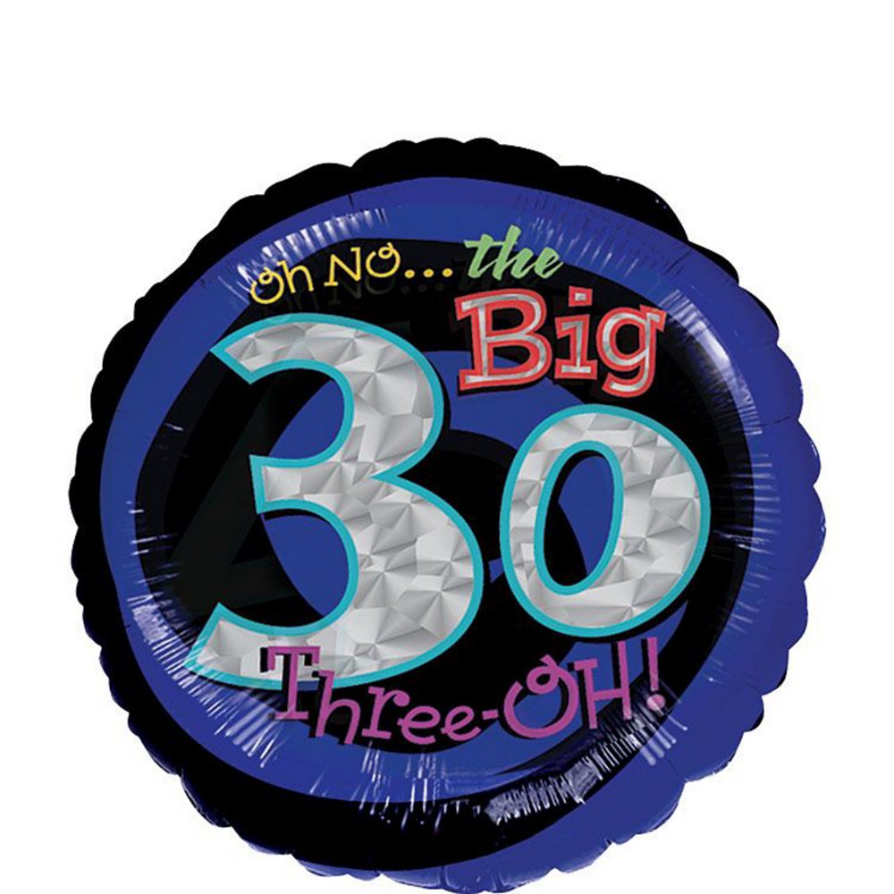 Nav Item For The Party Continues 30th Birthday Balloon Kit Image 4