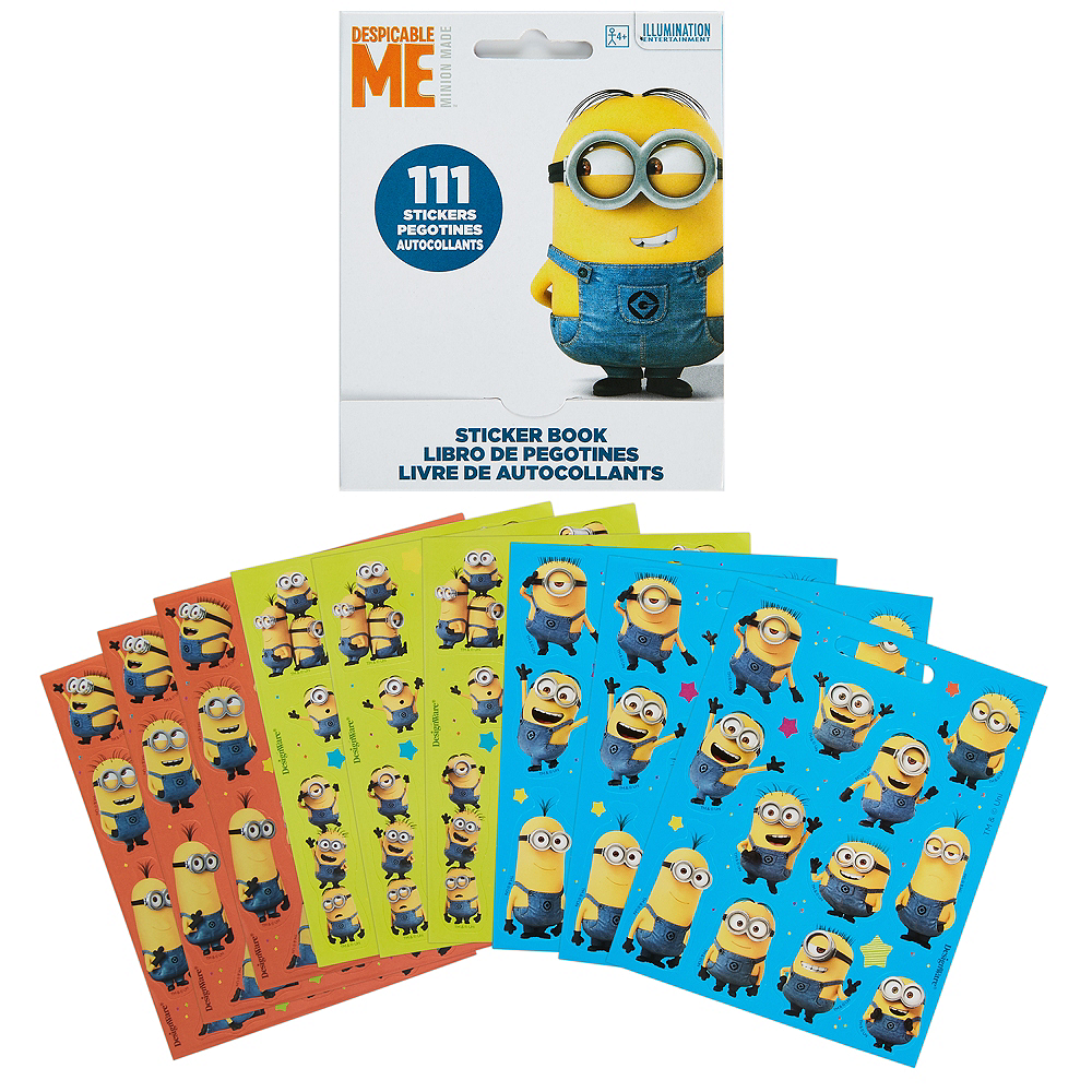 Despicable Me Sticker Book 9 Sheets Image #1