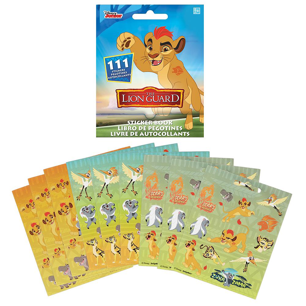 Lion Guard Sticker Book 9 Sheets Image #1