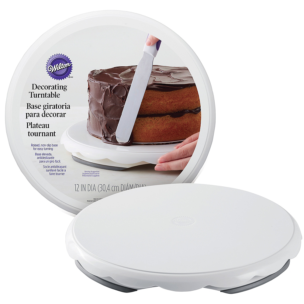 Nav Item for Wilton Cake Decorating Turntable Image #1