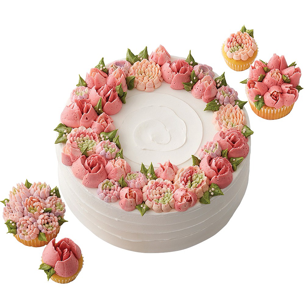 Nav Item for Wilton Easy Blooms Decorating Tip Set 4pc Image #3