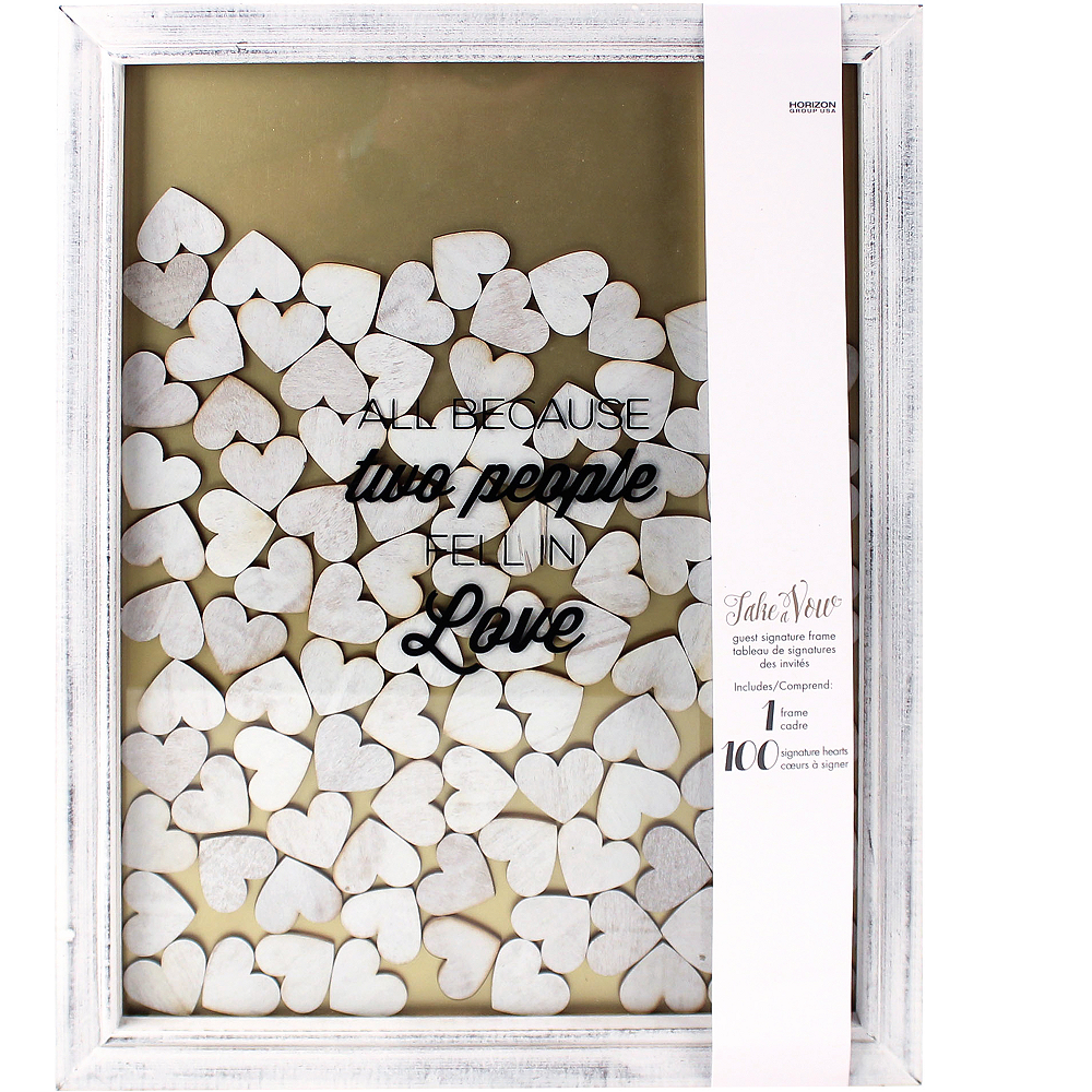 Guest Book Frame 101pc   Party City Canada