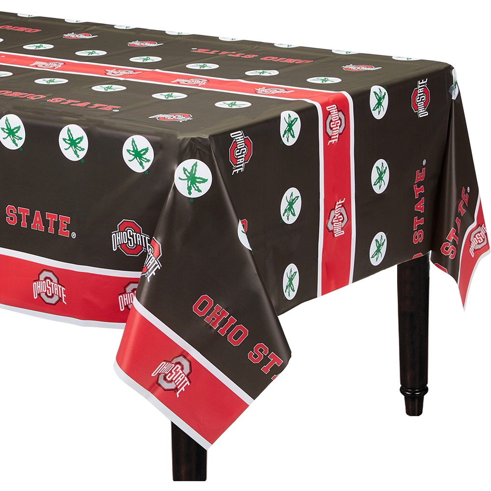 Ohio State Buckeyes Table Cover Image #1