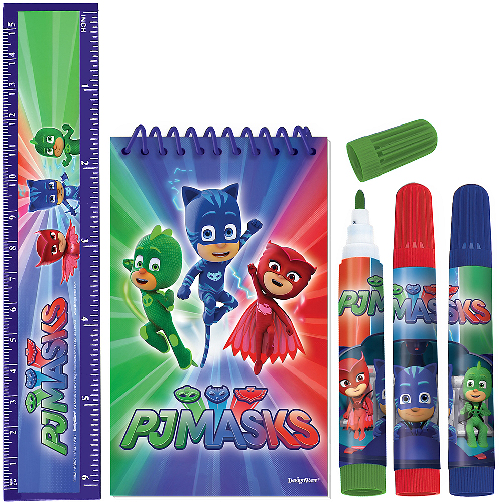 PJ Masks Stationery Set 5pc Image #1