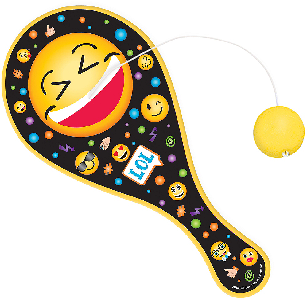 Smiley Paddle Ball Image #1