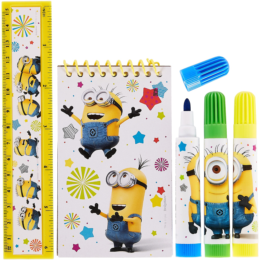 Despicable Me Stationery Set 5pc Image #1