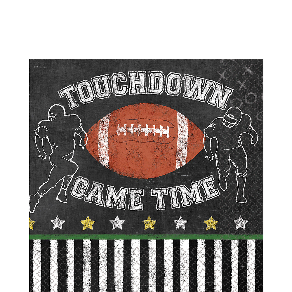 Football Game Time Lunch Napkins 36ct Image #1