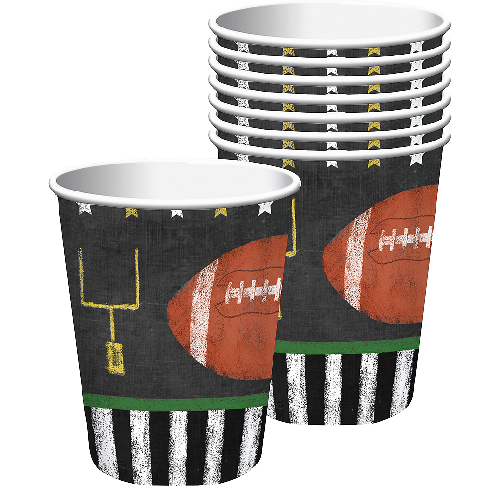 Football Game Time Cups 18ct Image #1