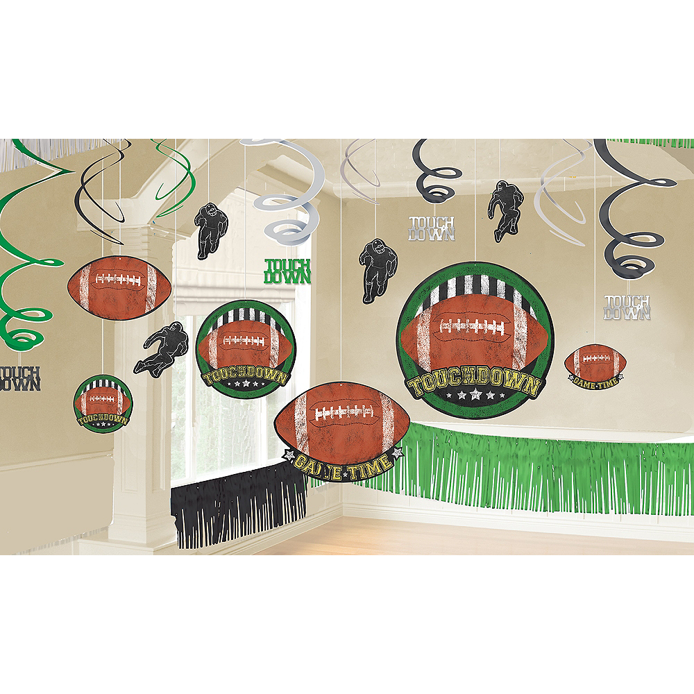 Football Game Time Room Decorating Kit 22pc Image #1