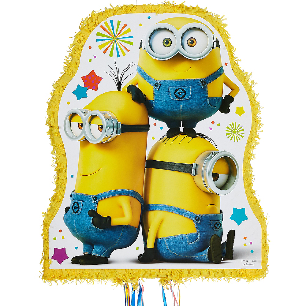 Nav Item for Pull String Minions Pinata Image #1