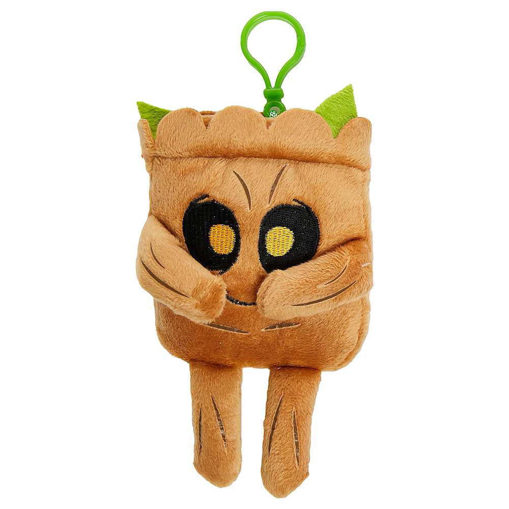 Clip-On Square Baby Groot Plush - Guardians of the Galaxy Image #1
