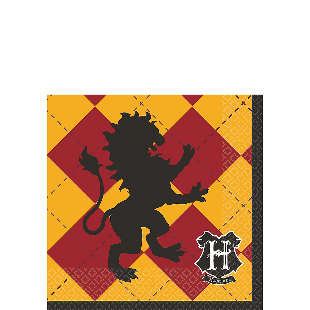 Harry Potter Beverage Napkins 16ct Image #1