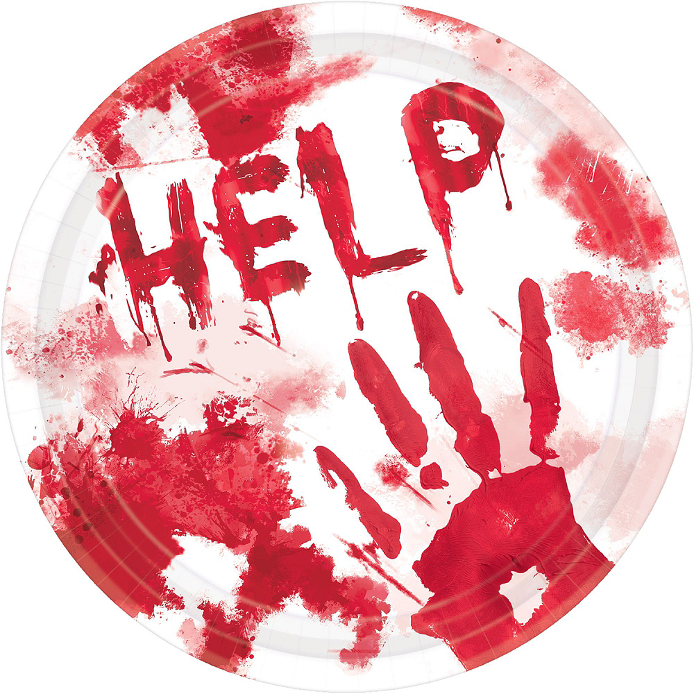 Nav Item for Bloody Hands Deluxe Party Kit Image #3