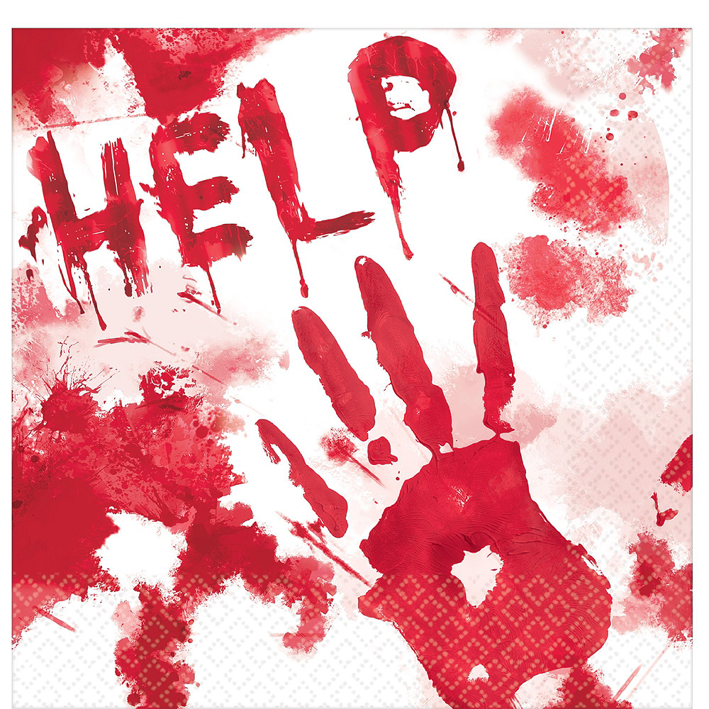 Nav Item for Bloody Hands Deluxe Party Kit Image #5