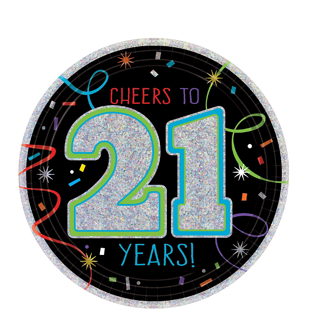 Brilliant 21st Birthday Party Kit for 16 Guests Image #4