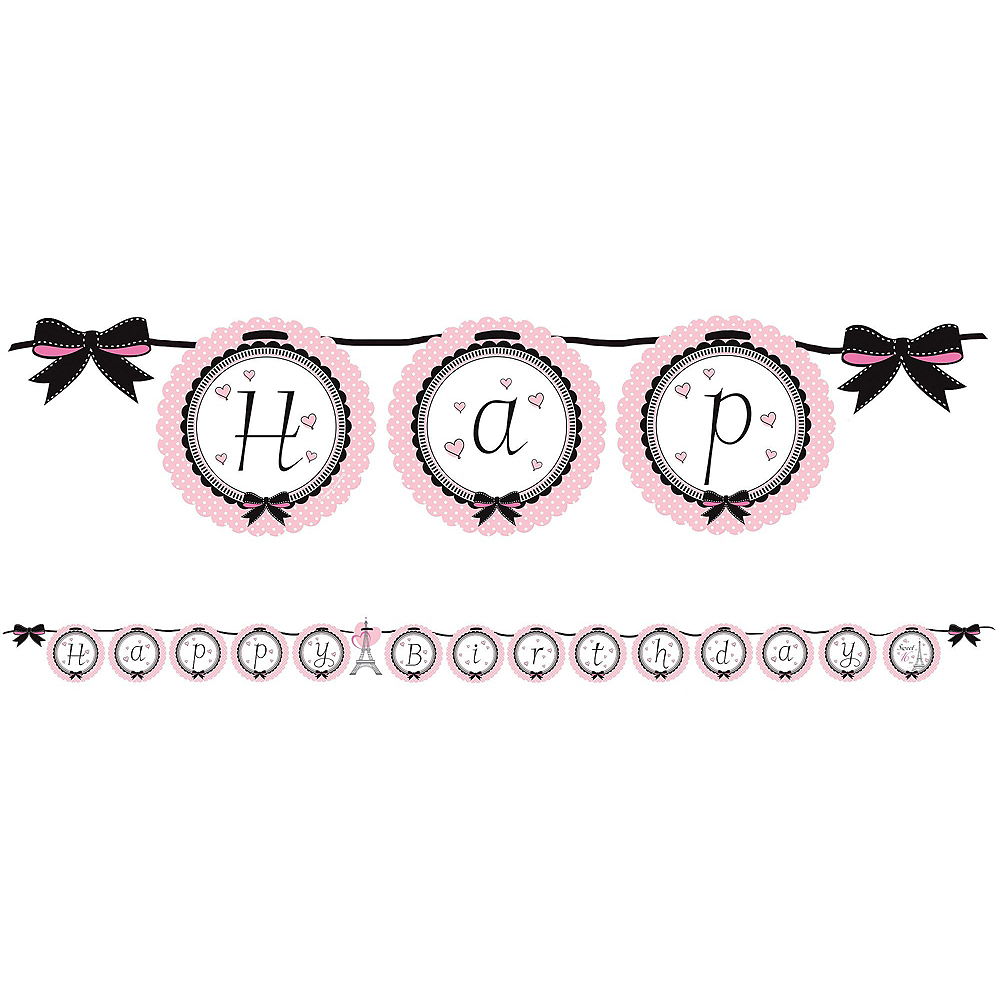 Pink Paris 13th Birthday Party Kit for 16 Guests Image #10