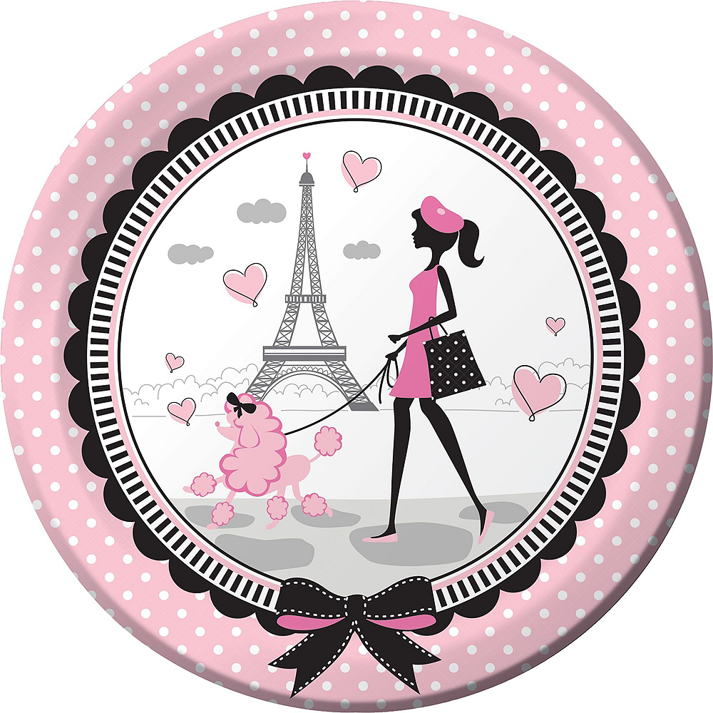 Pink Paris 16th Birthday Party Kit for 16 Guests Image #3