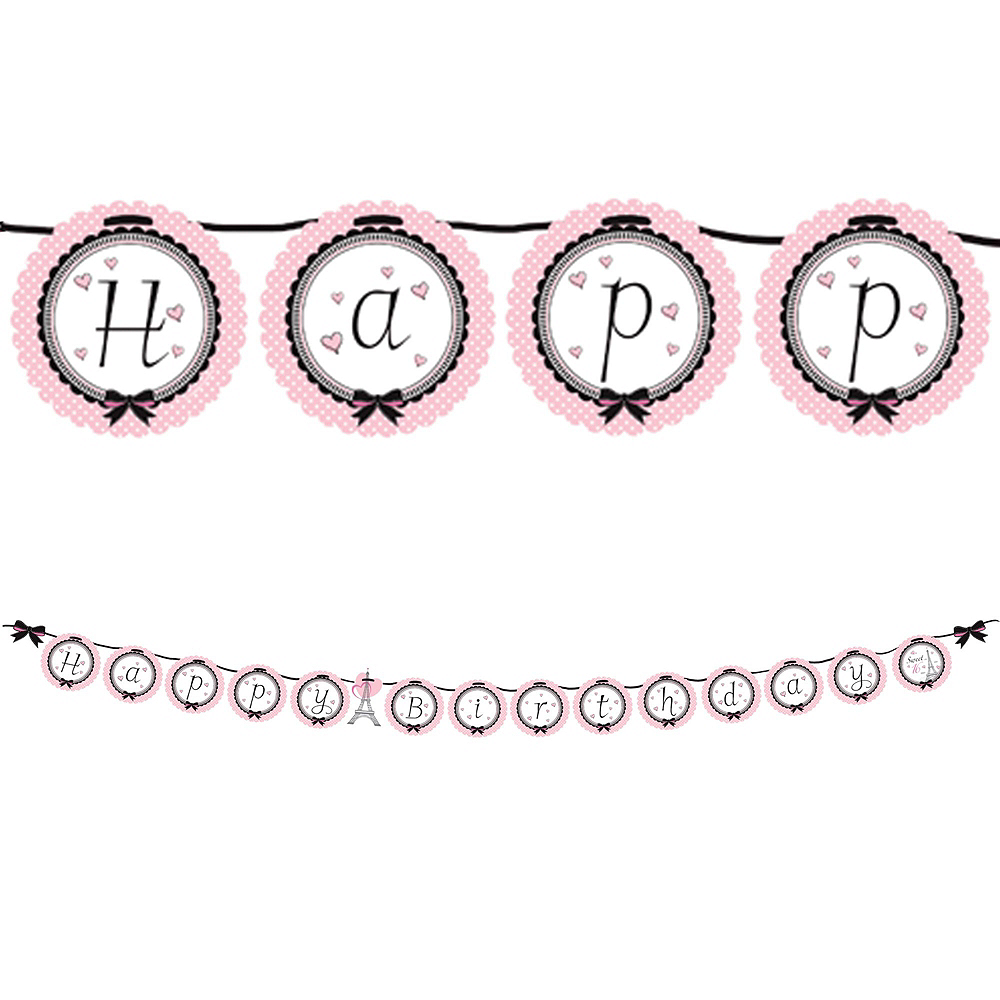 Pink Paris 16th Birthday Party Kit for 16 Guests Image #9