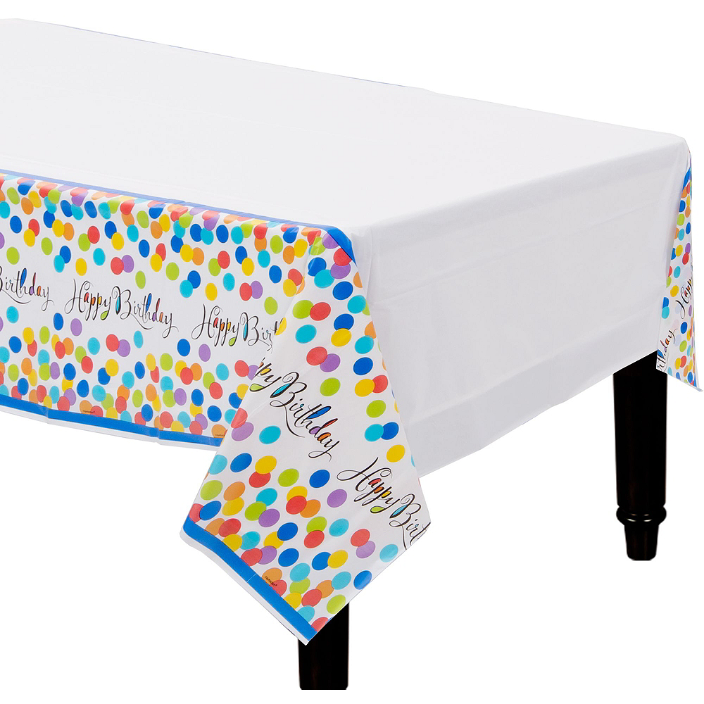 Bright Dot Birthday Party Kit for 18 Guests Image #8