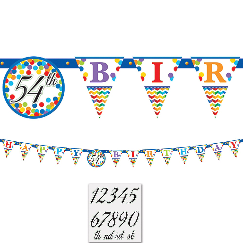 Bright Dot Birthday Party Kit for 18 Guests Image #9