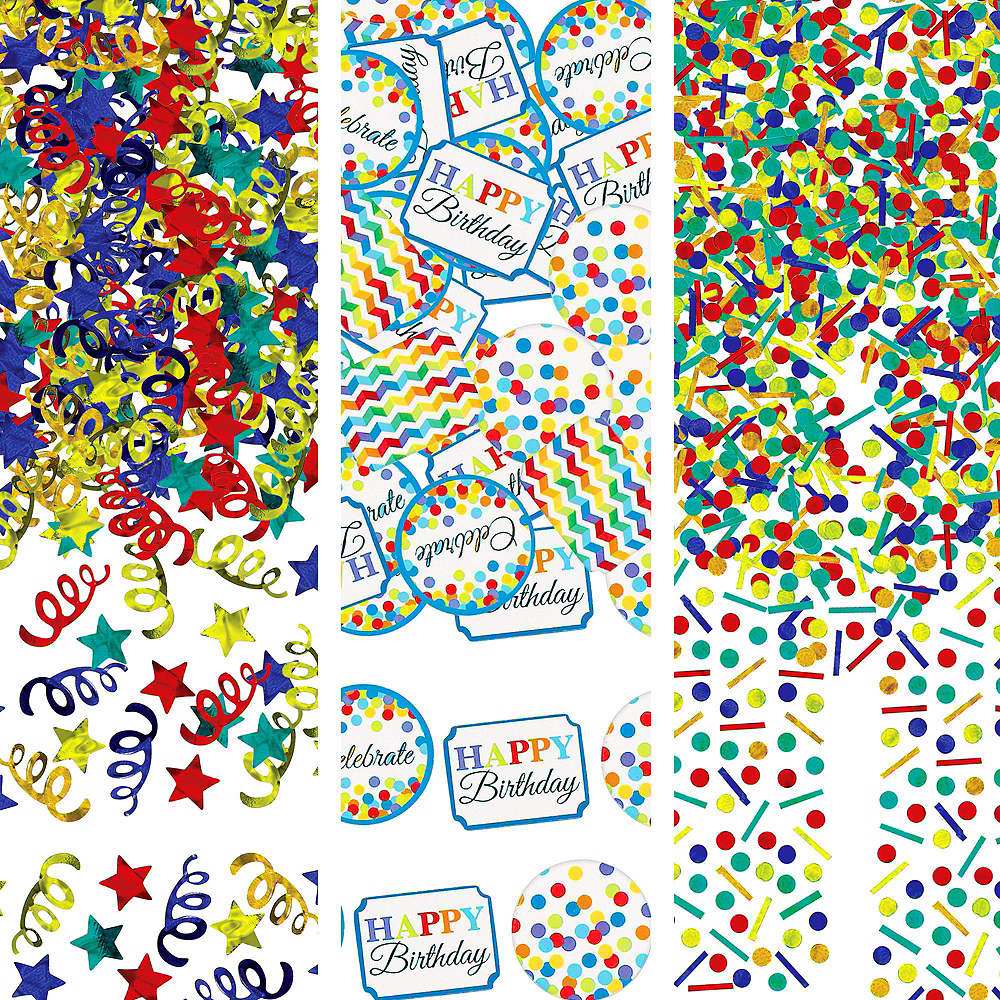 Bright Dot Birthday Party Kit for 18 Guests Image #10
