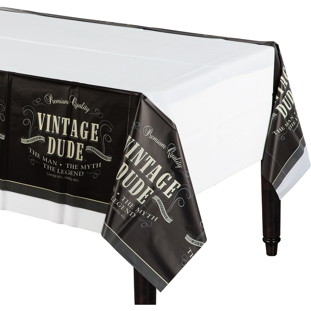 Vintage Dude 60th Birthday Party Kit for 16 Guests Image #7