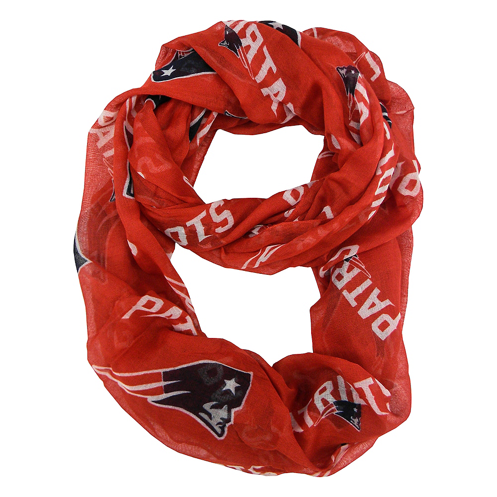 Nav Item for New England Patriots Scarf Image #1