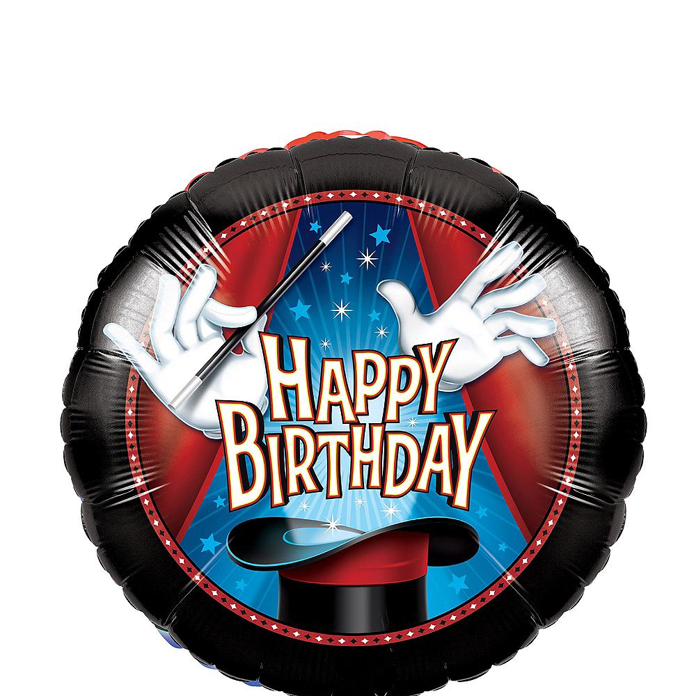 Magic Birthday Balloon, 18in Image #1