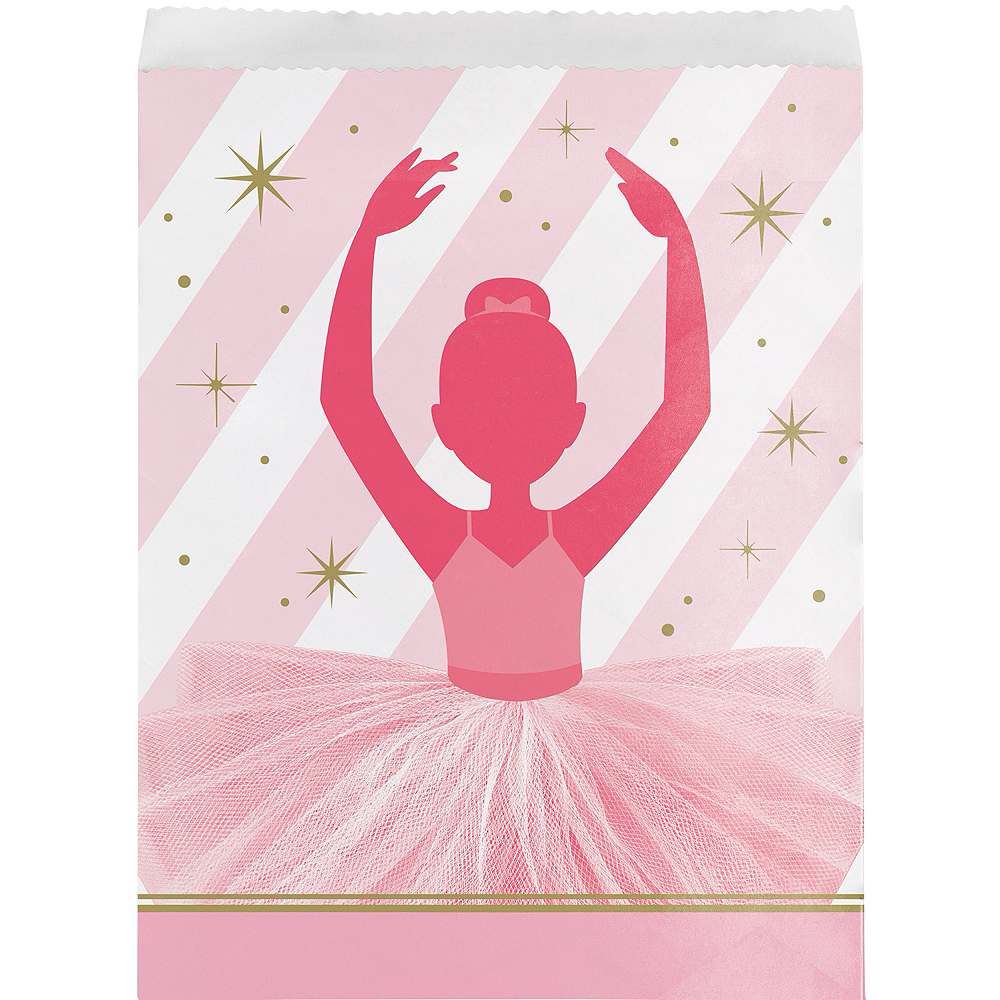 Ballerina Treat Bags 8ct Image 1
