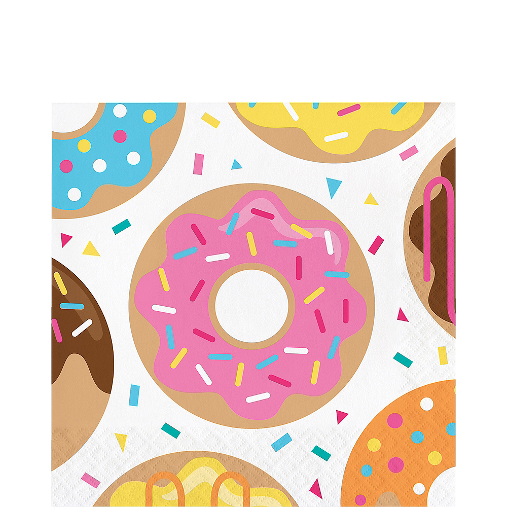 Donut Lunch Napkins 16ct Image #1