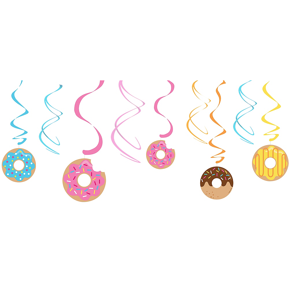 Nav Item for Donut Swirl Decorations 5ct Image #1
