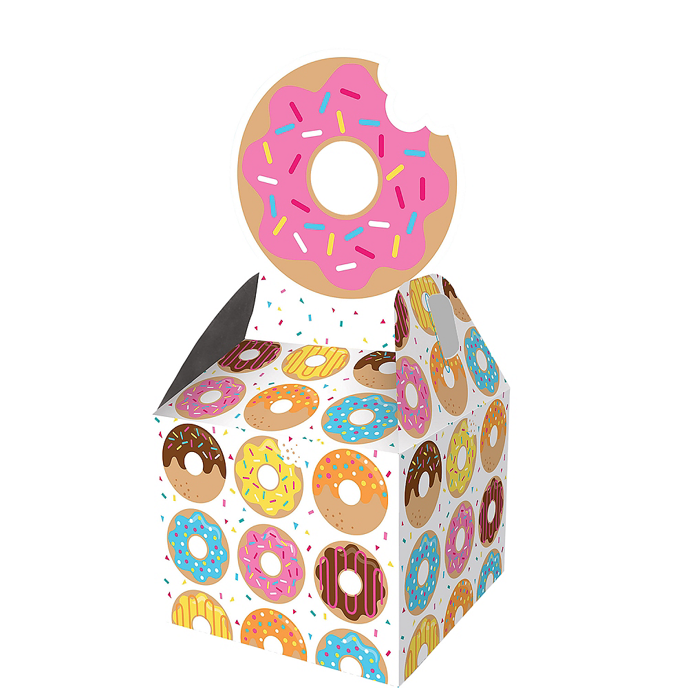 Donut Favor Boxes 8ct Image #1