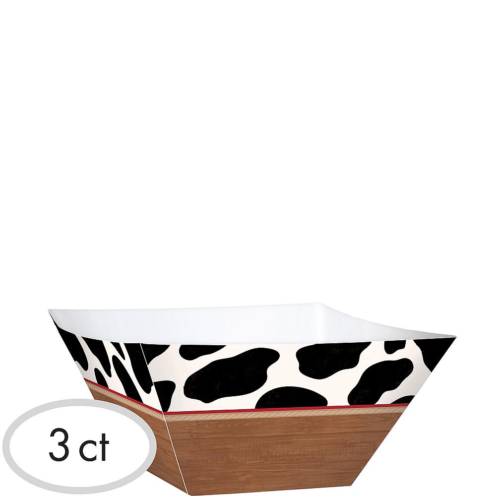 Yeehaw Western Serving Bowls 3ct Image #1