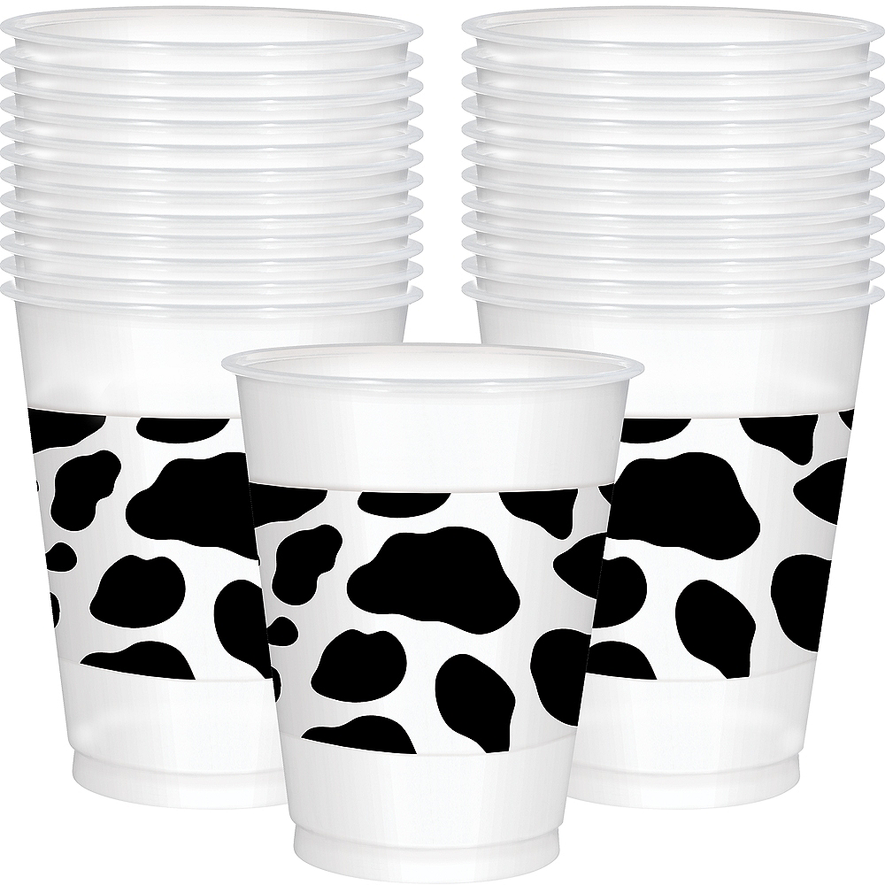 Nav Item for Yeehaw Western Plastic Cups 25ct Image #1