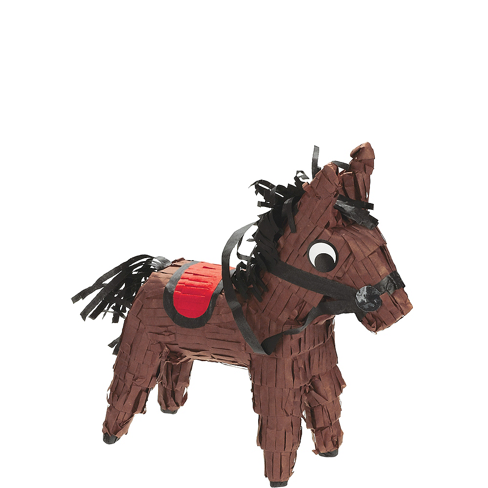 Mini Horse Pinata Decoration Image #1