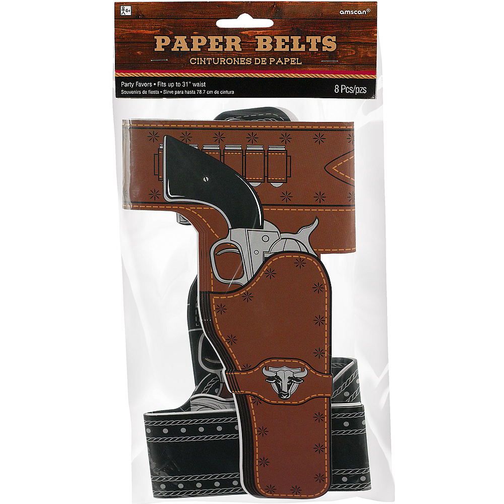 Nav Item for Yeehaw Western Belts 8ct Image #1