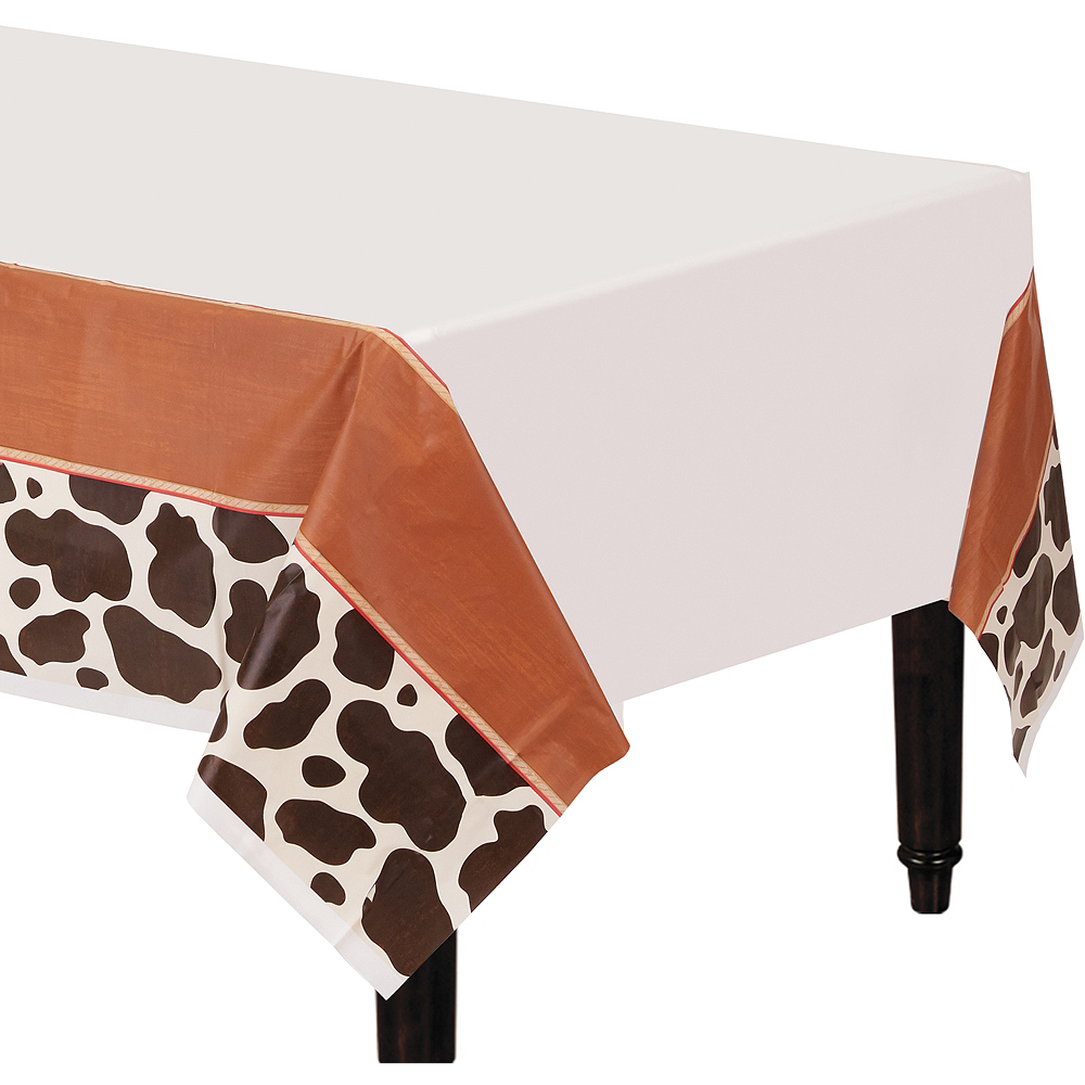 Yeehaw Western Table Cover 54in X 102in Party City