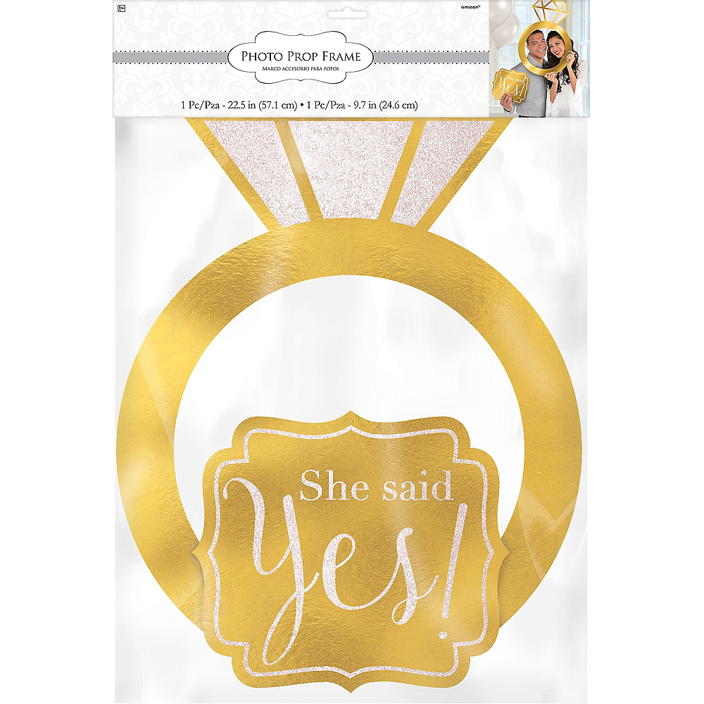 Engagement Photo Booth Frame Kit 2pc Image #2