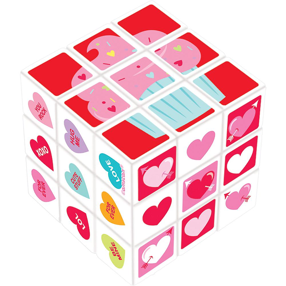 Valentine's Day Puzzle Cube Image #1